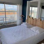 Chambre double balcon vue mer Hôtel Bord à bord à Noirmoutier en Vendée 85