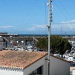Chambre vue port sans balcon Hôtel Bord à bord à Noirmoutier en Vendée 85