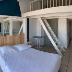 Chambre familiale balcon vue mer Hôtel Bord à bord à Noirmoutier en Vendée 85